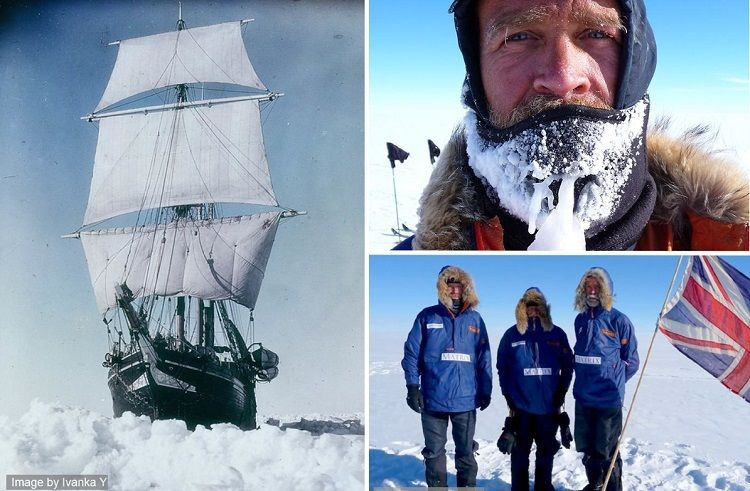 At the Edge of the World: A Story of One Man Who Conquered Antarctica