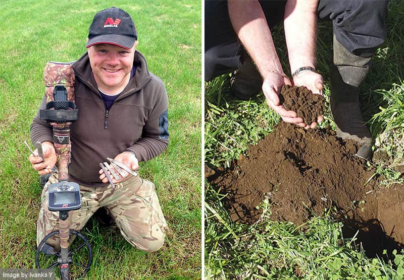 Man with a Metal Detector Goes Treasure Hunting in the Church's Backyard, What He Found There Made Everyone's Eyes Go Wide