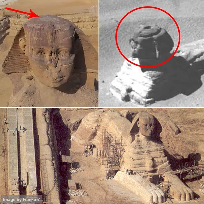 The Great Egyptian Cover-Up: A Hole in the Sphinx's Head and a Mysterious Chamber No One Wants To Talk About