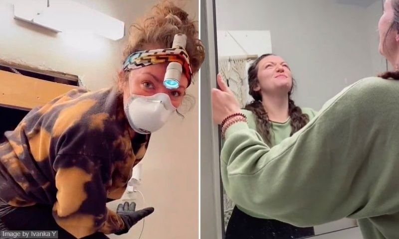 New York Woman Found a Horrifying Opening Behind Her Bathroom Mirror, What She Saw Next Changed Her Life Forever